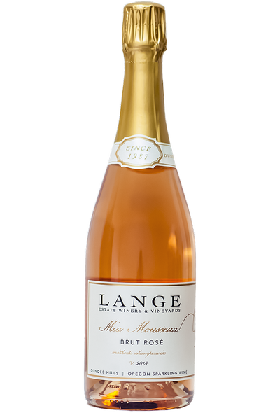 2015 Lange Estate, Mia Mousseux Brut Rose Sparkling