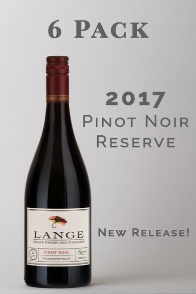 House Pour Pinot - 2017 Pinot Noir Reserve 6 Pack