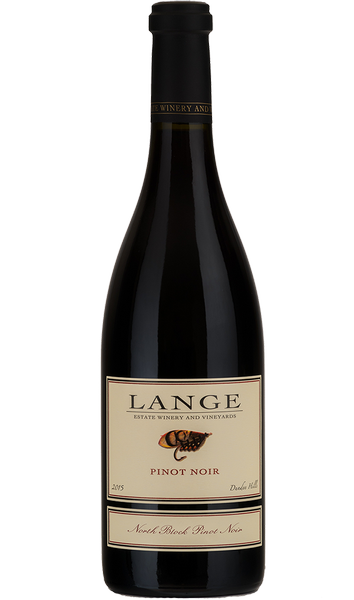 2015 Lange Pinot Noir, North Block