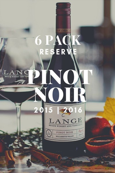 House Pour Pinot - Pinot Noir Reserve 6 Pack